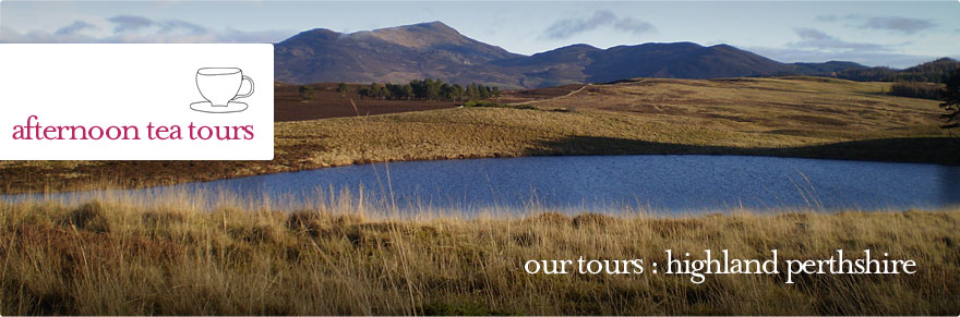 Afternoon Tea Tours - Private tour of Highland Perthshire
