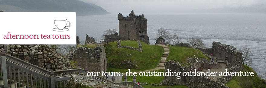 Afternoon Tea Tours - The Outstanding Outlander Adventure