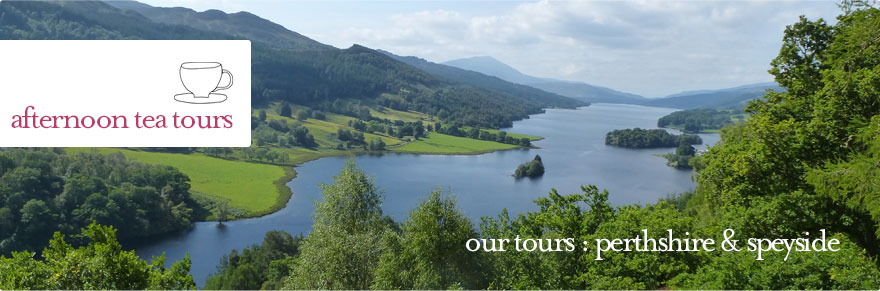Afternoon Tea Tours - Perthshire and Speyside Tour