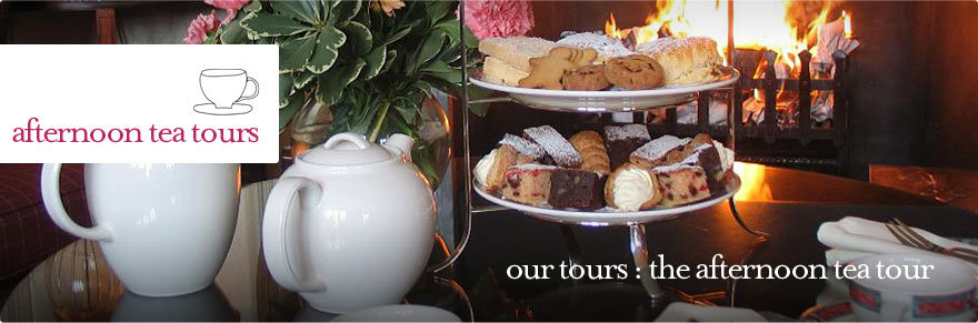 Afternoon Tea Tours - the Afternoon Tea Private Guided Tour