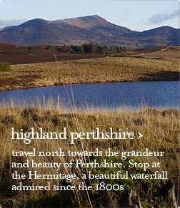 highland perthshire guided tour