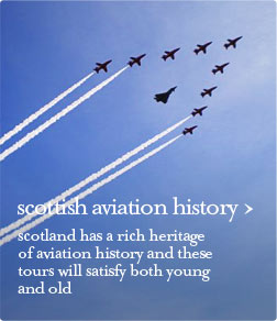 scottish aviation history guided tour