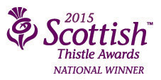 Scottish Thistles Awards National Winner 2014 Logo